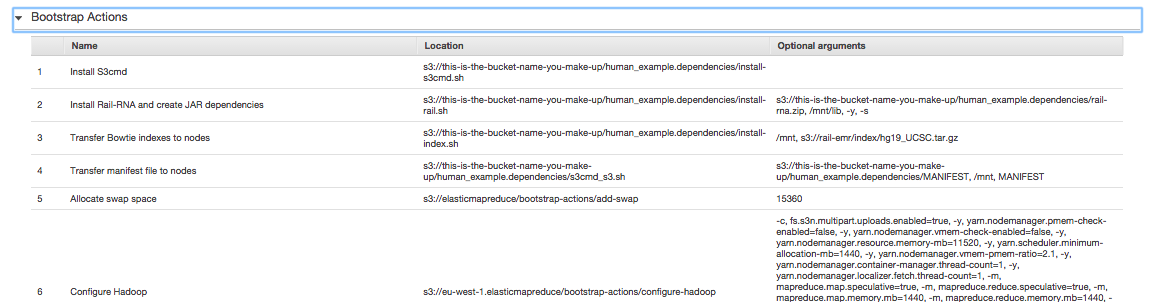 EMR bootstrap actions